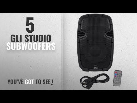 Top 10 Gli Studio Subwoofers [2018]: GLi PC90 Channel Studio Subwoofer