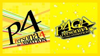 Persona 4: Dancing All Night (PS4) - P4 + P4G Animation Medley [All Night] KING CRAZY 【P4D】