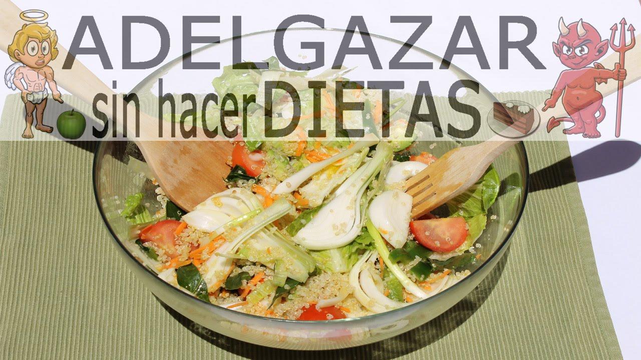 Consejos para adelgazar sin hacer dieta de verduras