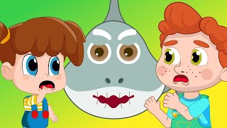 Baby Shark Dance | Sing and Dance! with the Shark Animal Songs for Children Nursery Rhymes Songs