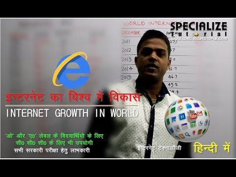 #ST0040 INTERNET TECHNOLOGY AND WEB DESIGN  Introduction to Internet  Growth of Internet  in World