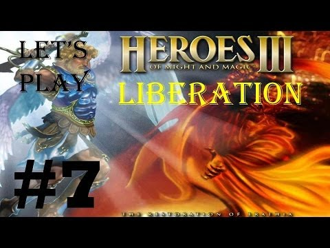 Let's play Heroes of Might and Magic 3 Liberation campaign 7