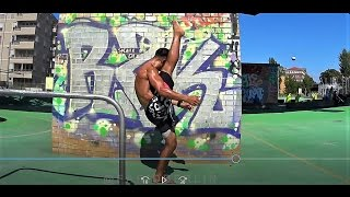 dynamic stretching   hammer kick progression   lower abs core leg workout   ufc tkd mma