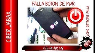 Celular LG  no enciende, revisión básica paso a paso