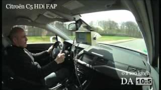 Vidéo Auto Moto : Citroën C5 et DS3, Peugeot RCZ et Audi TT