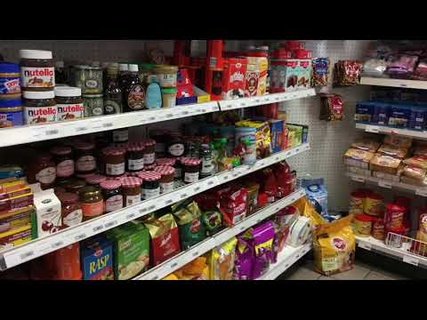 Gas station and Mini Market at Arborg, Iceland | Math Real Life Application