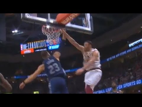 Larry Nance Jr Dunks on Blake Griffin After the Whistle! Cavaliers vs Pistons March 5, 2018