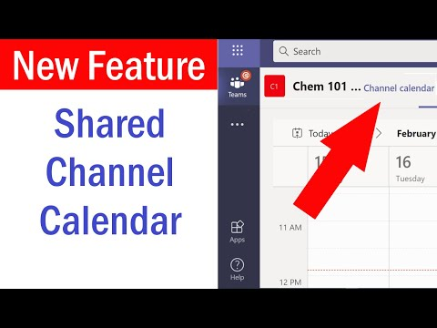 Add Calendar to Microsoft Teams Channel | How to create Shared Calendar in Microsoft Teams #MSTeams