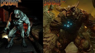 DOOM 3 VS The New DOOM 4 Graphics Comparison