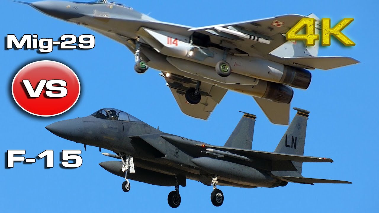 Mikoyan Mig 29 Fulcrum Vs F15 Eagle