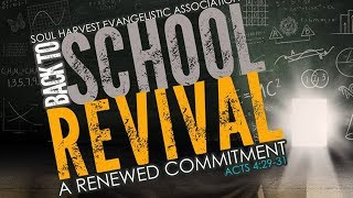 FGHT Dallas: Soul Harvest Back to School Revival (Wednesday)