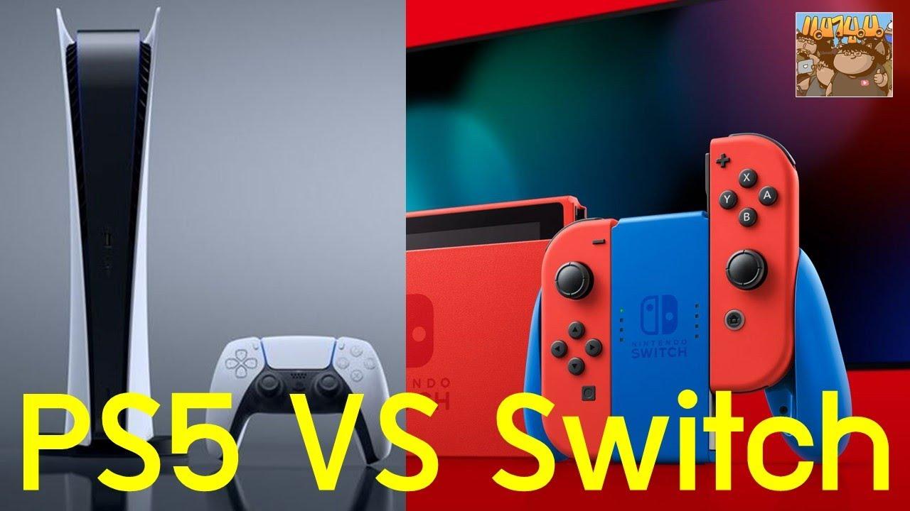 8 ข้อ PS5 เปรียบเทียบ Switch ซื้อเครื่องไหนดี สำหรับมือใหม่ อับเดท 2021