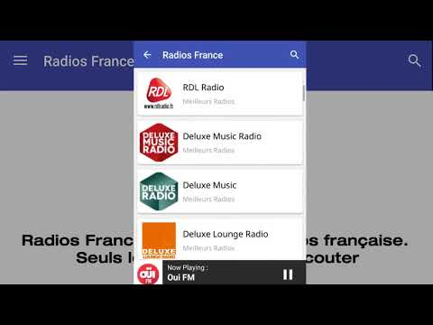 Radios France Android App Promotion Video