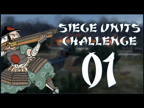 LET'S DESTROY JAPAN - Hojo (Challenge: Siege Units Only) - Total War: Shogun 2 - Ep.01!