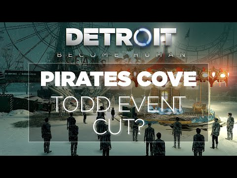 Pirates' Cove - Behind The Scenes & Exploration (Detroit: Become Human) |