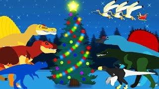 Funny Dinosaurs Cartoons. Christmas with Dinosaurs. DinoMania