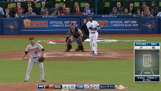 Bautista thrown behind, then homers