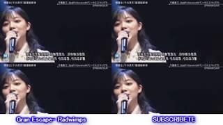 RADWIMPS - GRAND ESCAPE 🔴FULL LIVE - Feat. Toko Miura