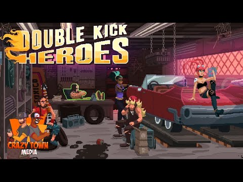 Ready To Rock! | Double Kick Heroes | Crazy Town Gaming |