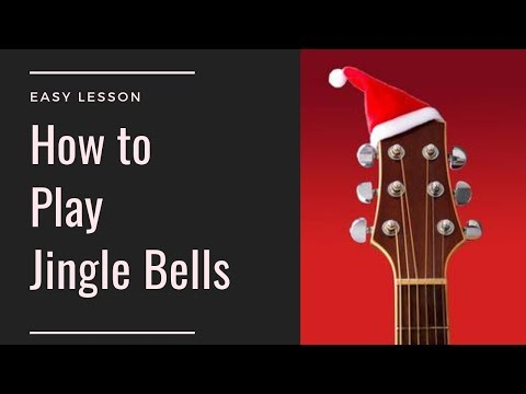 Learn How to Play Jingle Bells | Easy Guitar | Guitar Cover | Christmas Songs