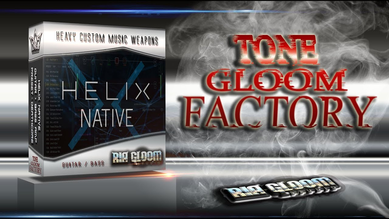 RGStudio / Helix Native Preset / Guitar+Bass+Bonus / Free Download