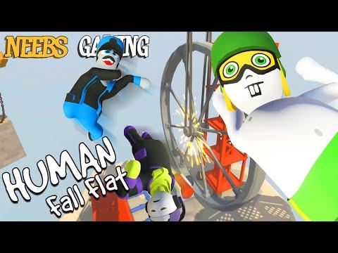 Human Fall Flat: Wheel of Death! |