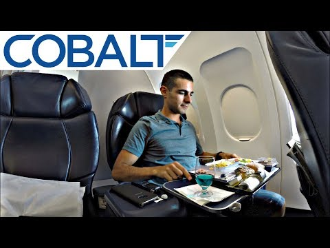 Cobalt A320 BUSINESS CLASS Review | Larnaca to Gatwick Trip Report | GoPro Takeoff to Landing
