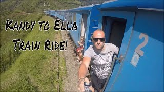 How to travel Cheap in Sri Lanka the most beautiful train ride from Kandy to Ella
