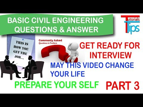 Interview Questions Answer for Civil Engineer | Basic tips for Site Engineer. Hindi