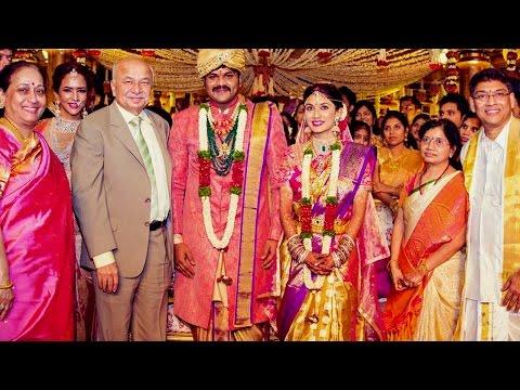 Sushilkumar Shinde @ Manchu Manoj Wedding Ceremony