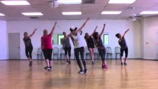 """A Little Party Never Killed Nobody"" Fergie Dance Choreography Fitness by Inside Jenny"