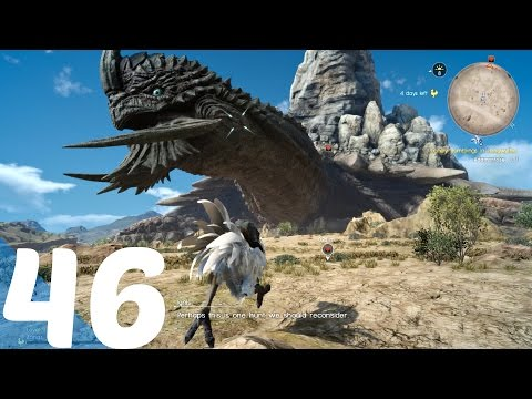 FINAL FANTASY XV - Gameplay Walkthrough Part 46 - Adamantoise Superboss Fight Level 99 l PS4 Pro