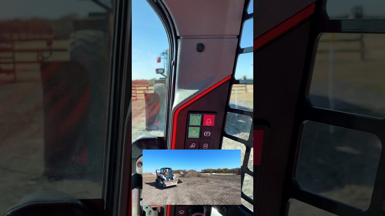 Bobcat T66 cab overview | #Shorts