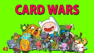 Adventure Time : CARD WARS - Leveling Doctor Donut 43 - iOS iPhone iPod iPad Android