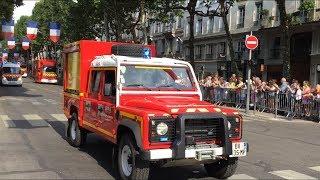 Défilé Sapeurs Pompiers 14 Juillet 2018 Lyon