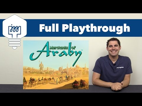 Merchants of Araby Full Playthrough