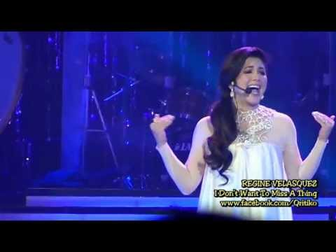 Regine Velasquez - I Don't Want To Miss A Thing (SILVER...Rewind! January 5, 2013)