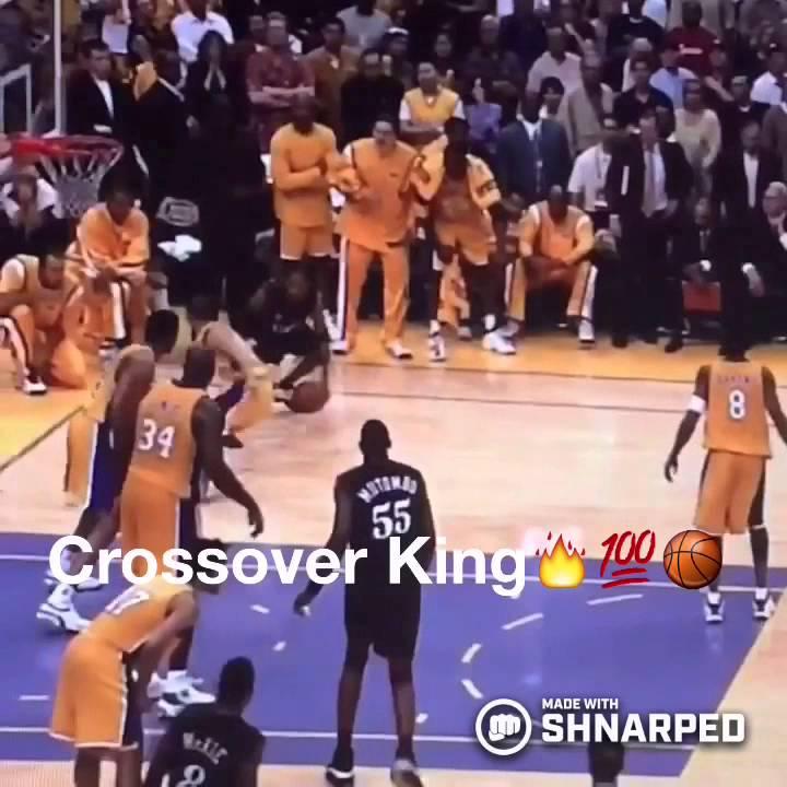 "Allen Iverson Crossover Tyronn Lue NBA Finals 2001 ""The"