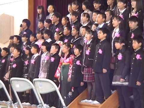 H.25.3.15春中卒業式「旅立ちの日に」 | FunnyDog.TV