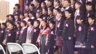 旅立ちの日に 2015/3/26 小学校卒業合唱曲 thumbnail