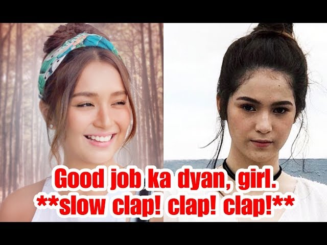Kathryn Bernardo Answers Barbie Imperial in the Most Classy Way