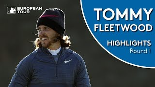 Tommy Fleetwood Highlights   Round 1   2018 Alfred Dunhill Links Championship