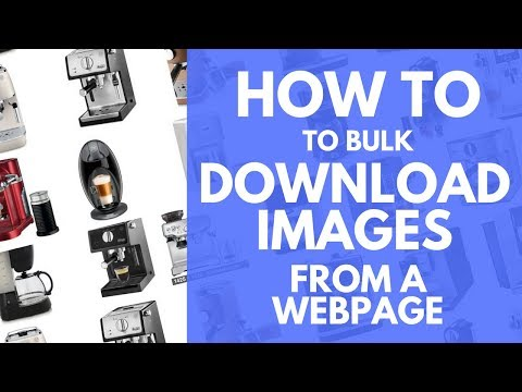 How To Download All Product Images From A Webpage At Once