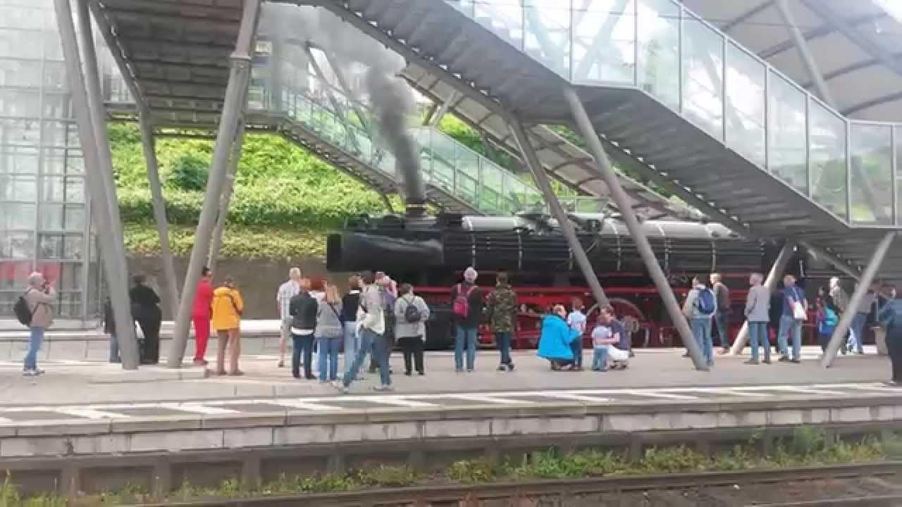 Bahnhof Neustadt Weinstrasse Unter Dampf Youtube