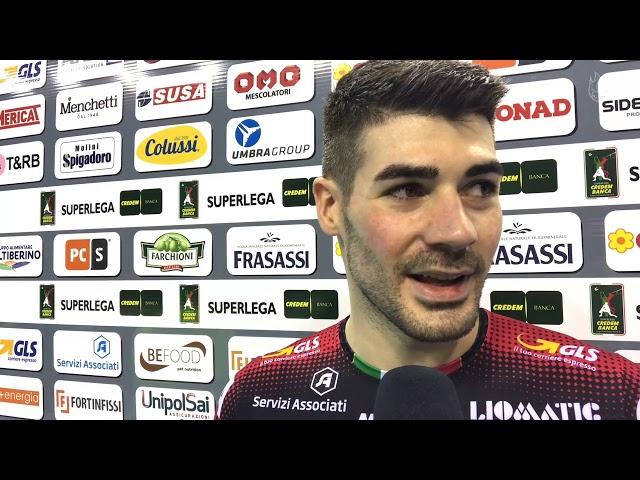 Così Pippo Lanza dopo la vittoria contro Padova #goSir #BlockDevils