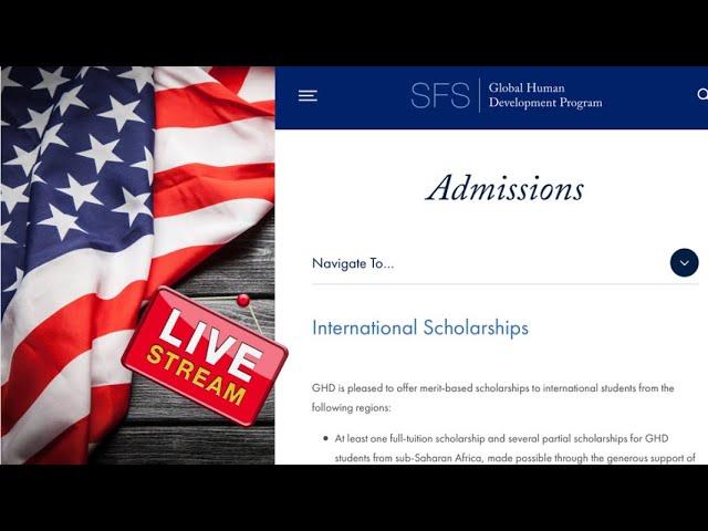 2022-2023 Georgetown University Global Human Development program (USA Scholarships)