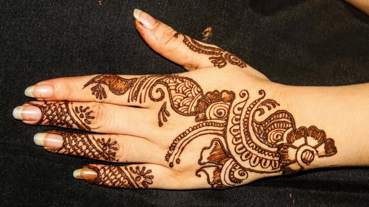 Arabic mehandi design arts - Beautiful Arabic Mehndi Designs For Bakri Eid Youtube