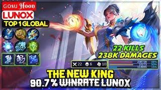 The New King, 90.7 % Winrate Lunox [ Top 1 Global Lunox ] ɢᴏsᴜ Hoon - Mobile Legends