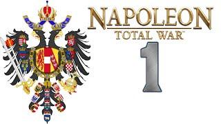 Napoleon Total War: DarthMod - Austria #1 (Gameplay PL Zagrajmy)