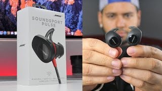 Bluetooth Headphones With A Heart Rate Sensor?! | Bose Soundsport Pulse Review